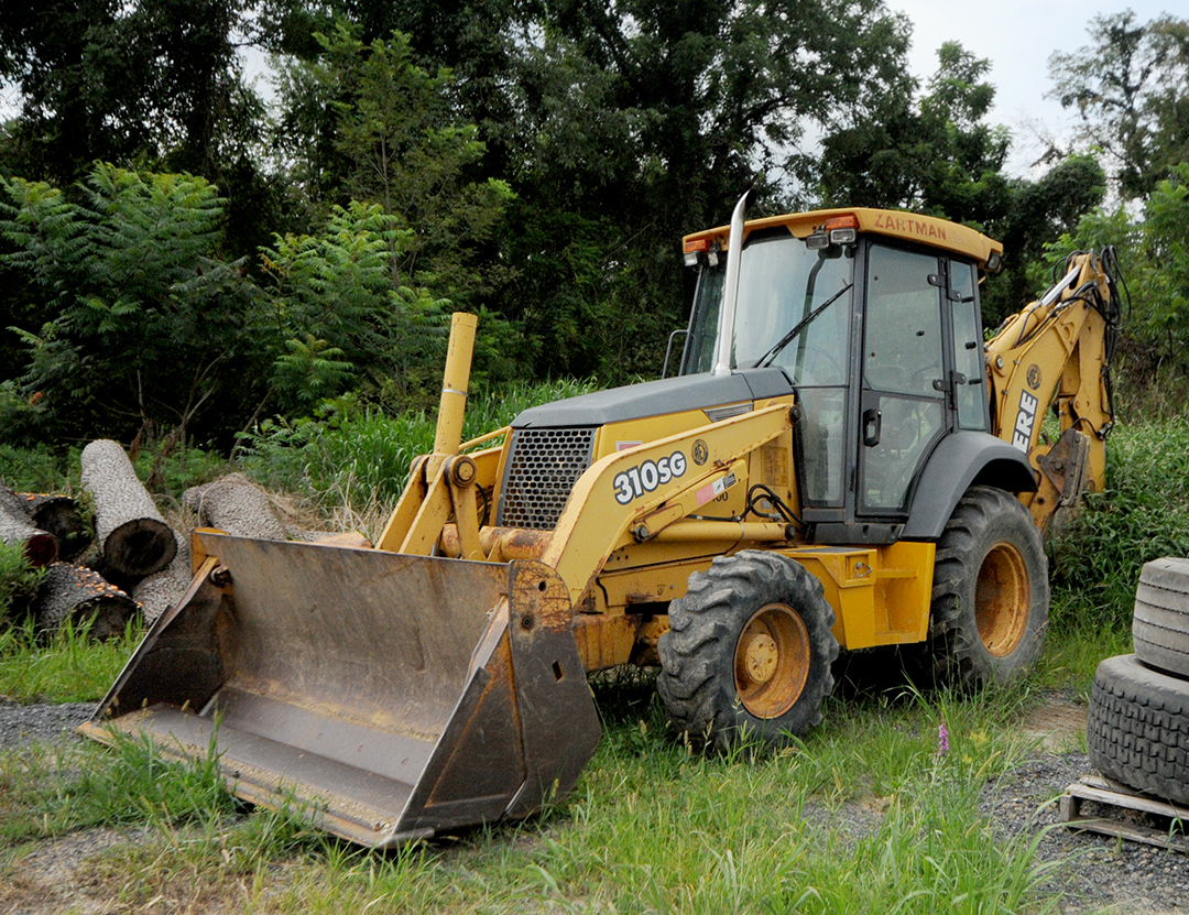 John Deere Backhoe Rental