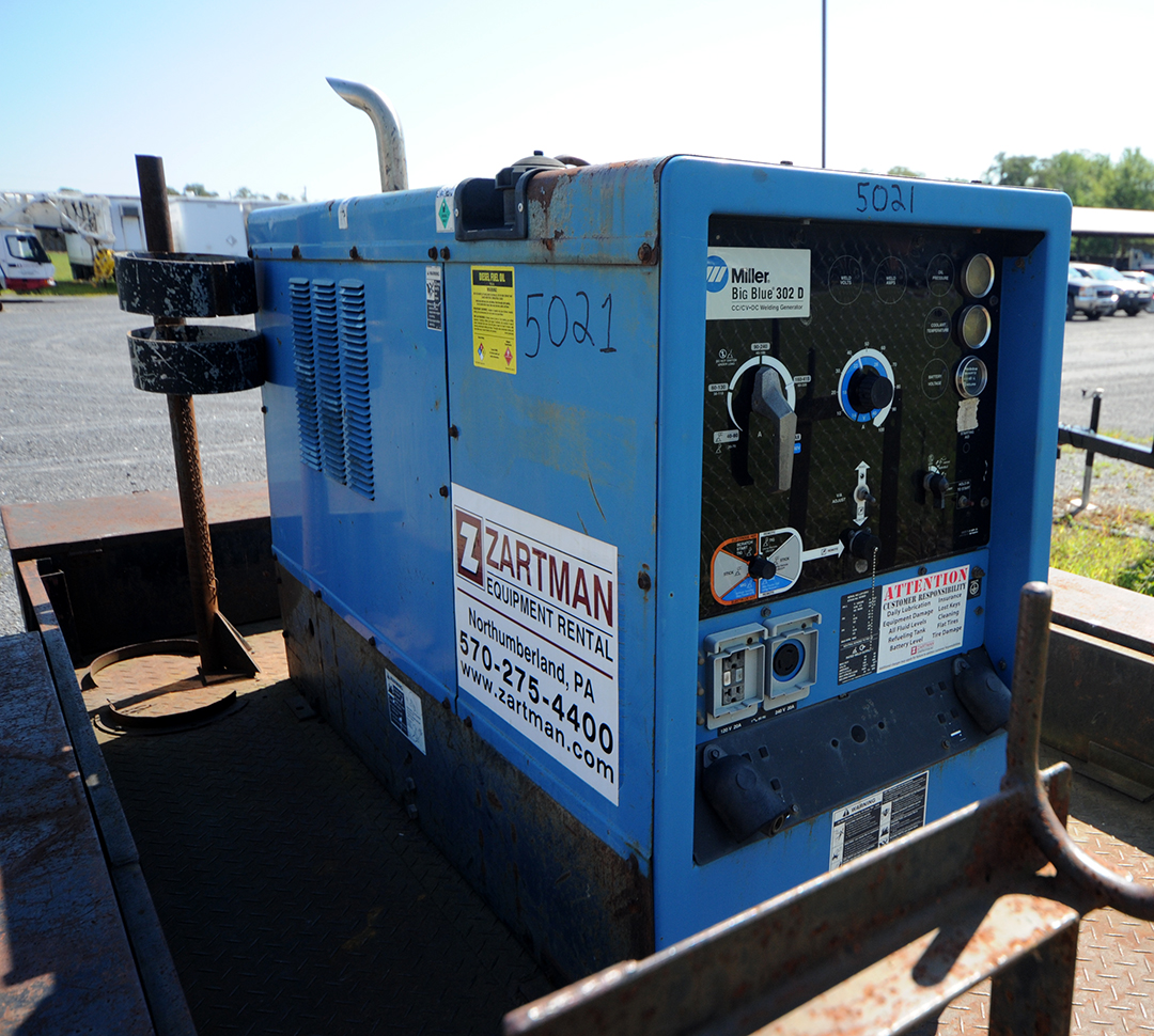 Miller Big Blue 302D Welder Rental