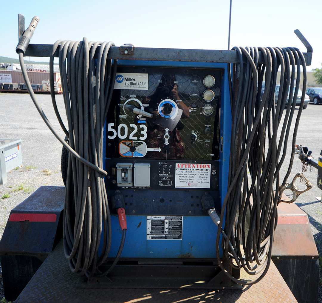 Miller Big Blue 402P Towable Welder Rental