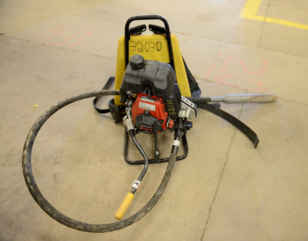 Oztec Backpack Concrete Vibrator rental