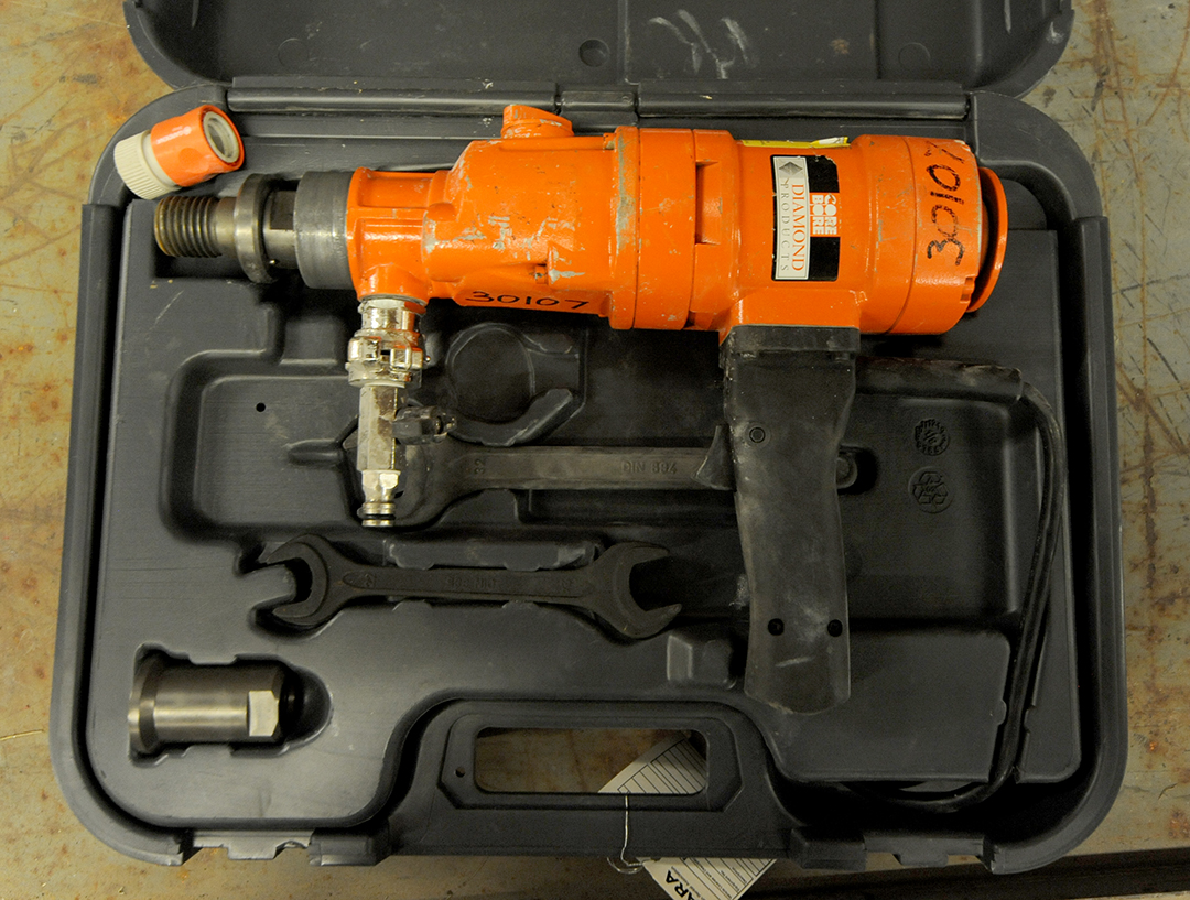 Weka D13 hand-held core drill rental