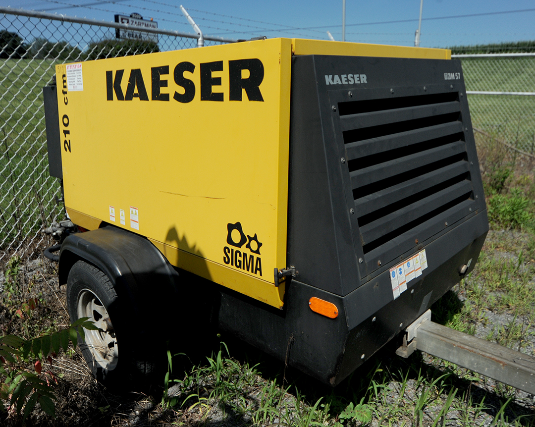 Kaeser M57 portable air compressor rental