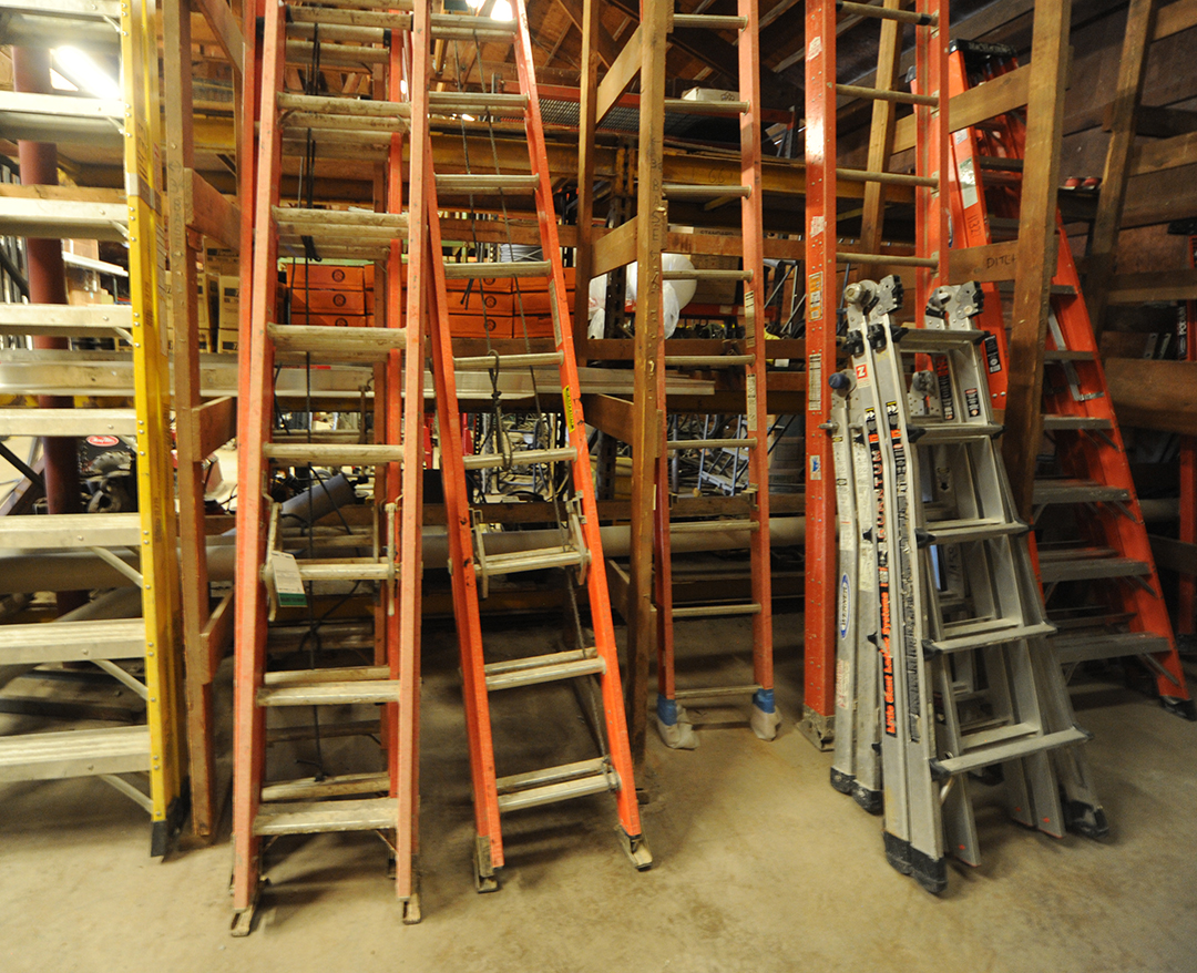 Various ladder rental options