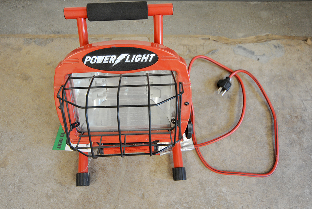 Heavy-Duty Work Light Rental