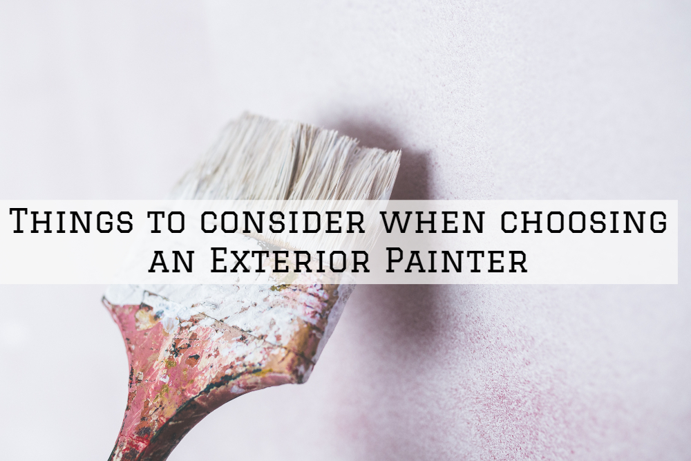 Things to consider when choosing an Exterior Painter in Boston, MA