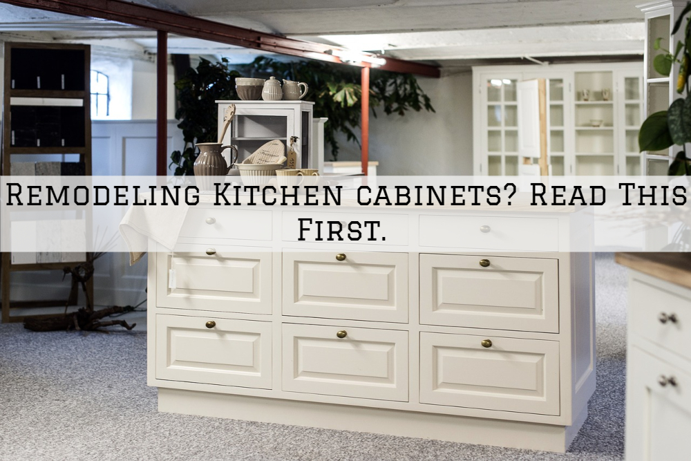 Remodeling Kitchen cabinets in Boston MA? Read This First.