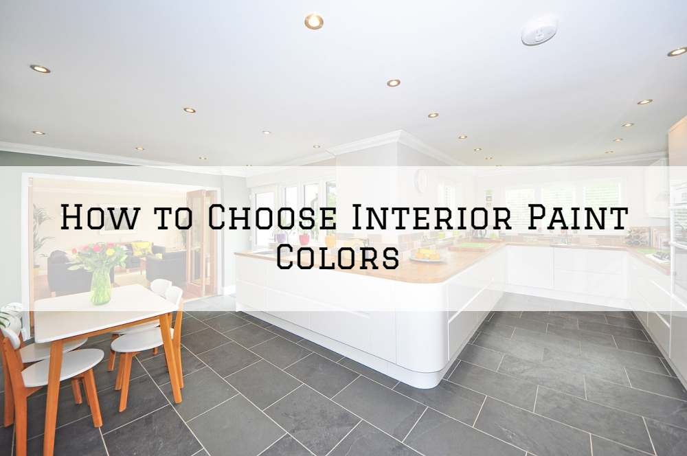 How to Choose Interior Paint Colors In Boston Massachusetts