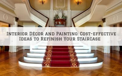 Interior Décor and Painting Boston MA: Cost-effective Ideas to Refinish Your Staircase