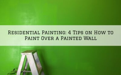 Residential Painting in Boston MA: 4 Tips on How to Paint Over a Painted Wall