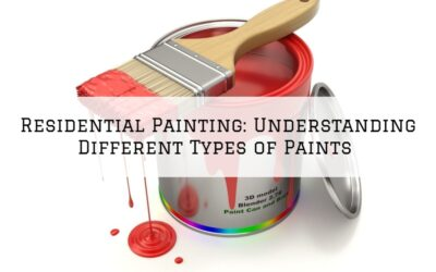 Residential Painting Boston MA: Understanding Different Types of Paints