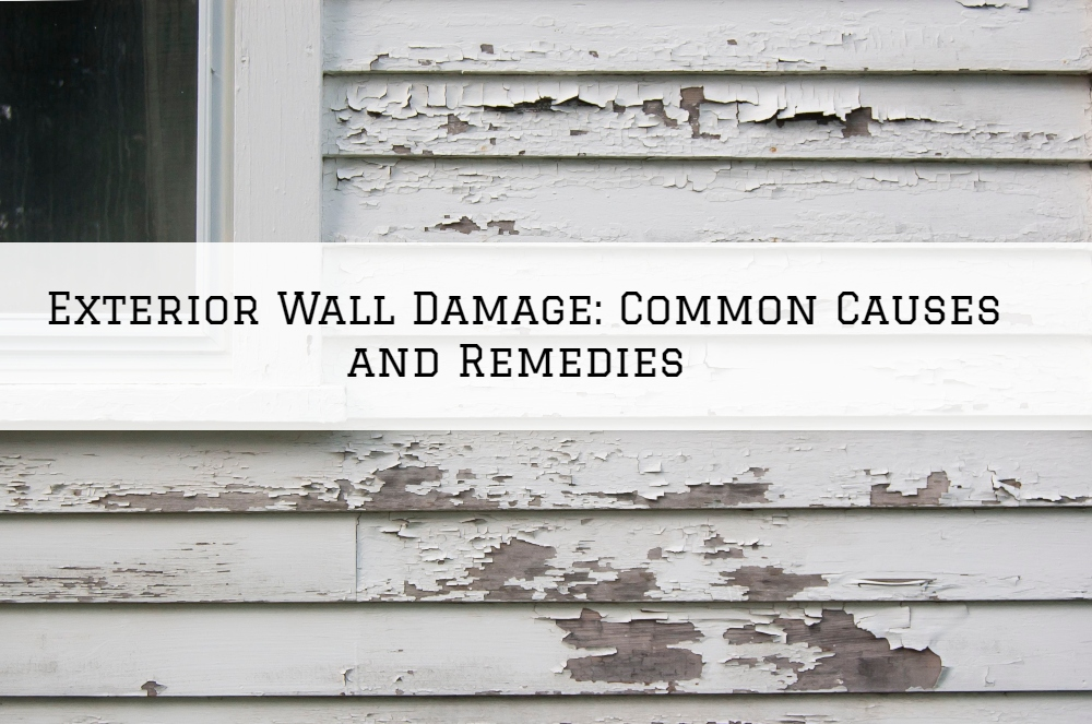 Exterior Wall Damage in Boston MA: Common Causes and Remedies