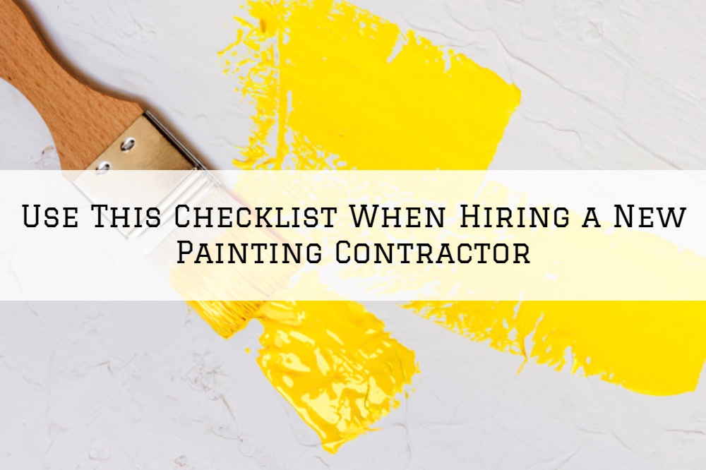 Use This Checklist When Hiring a New Painting Contractor in Boston MA