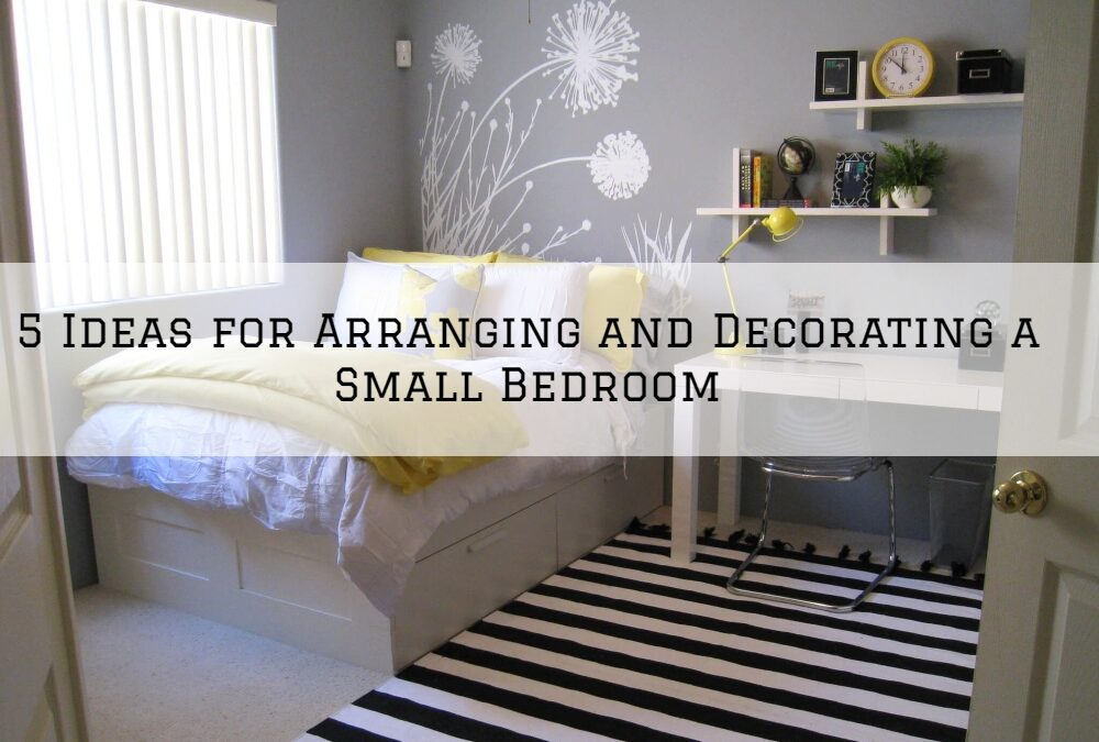 5 Ideas for Arranging and Decorating a Small Bedroom in Boston, MA