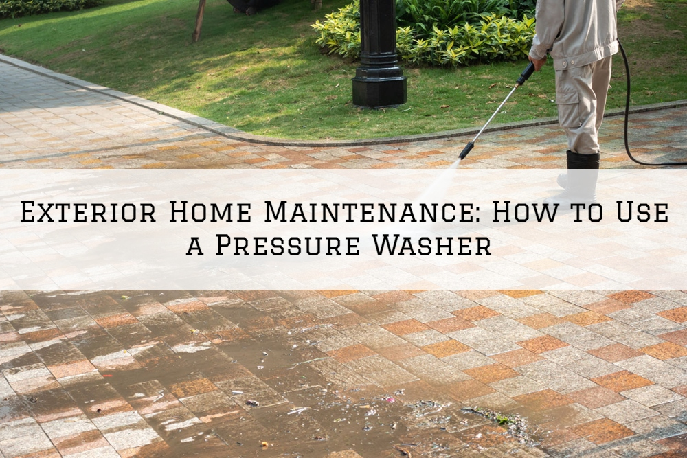 Exterior Home Maintenance Boston, MA: How to Use a Pressure Washer