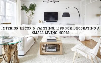 Interior Décor & Painting Boston, MA: Tips for Decorating a Small Living Room