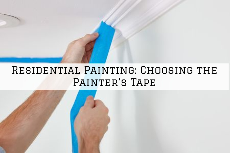 Residential Painting Boston, MA: Choosing the Painter's Tape