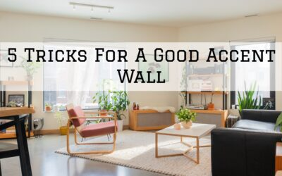 5 Tricks For A Good Accent Wall in Boston, MA