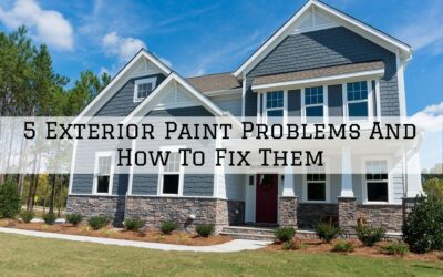 5 Exterior Paint Problems And How To Fix Them in Boston, MA