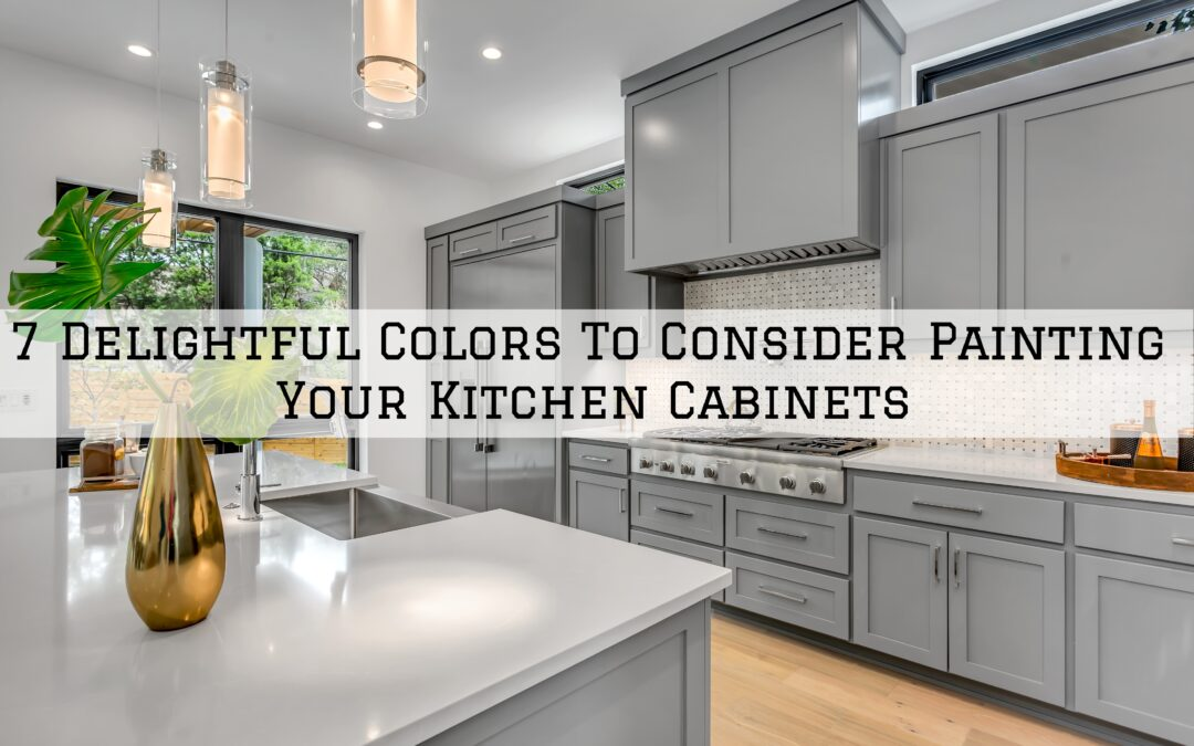 7 Delightful Colors To Consider Painting Your Kitchen Cabinets in Boston, MA