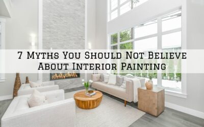 7 Myths You Should Not Believe About Interior Painting in Boston, MA