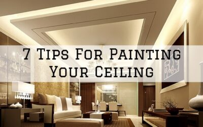 7 Tips For Painting Your Ceiling in Boston, MA