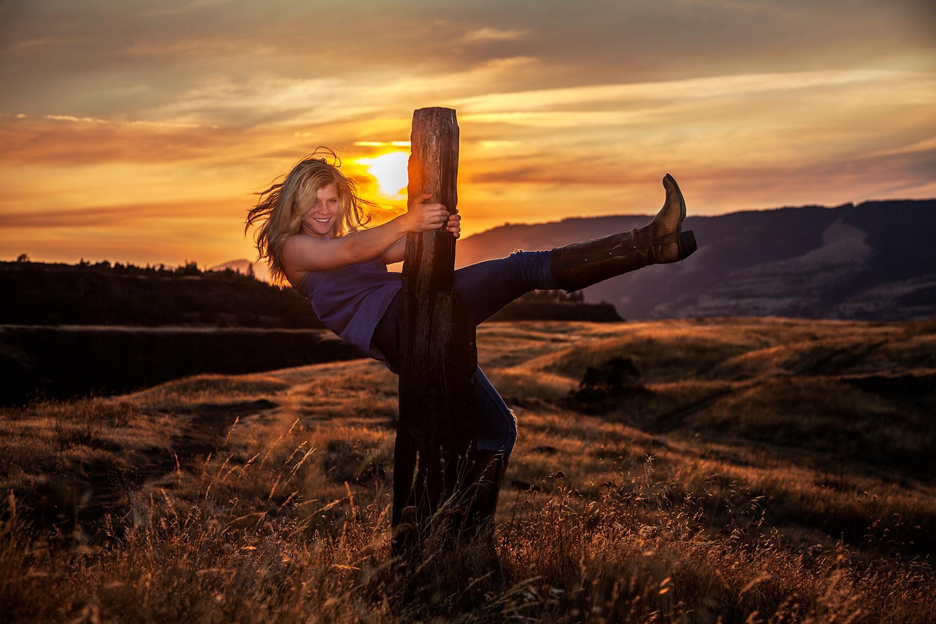 Rowena Crest Oregon portrait shoot
