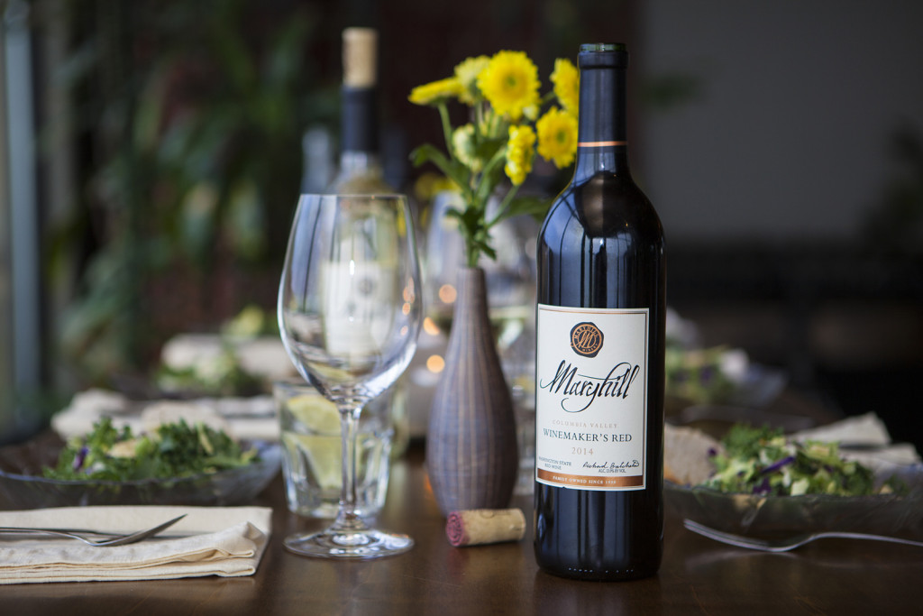 TV commercial shoot for award winning Maryhill Winery