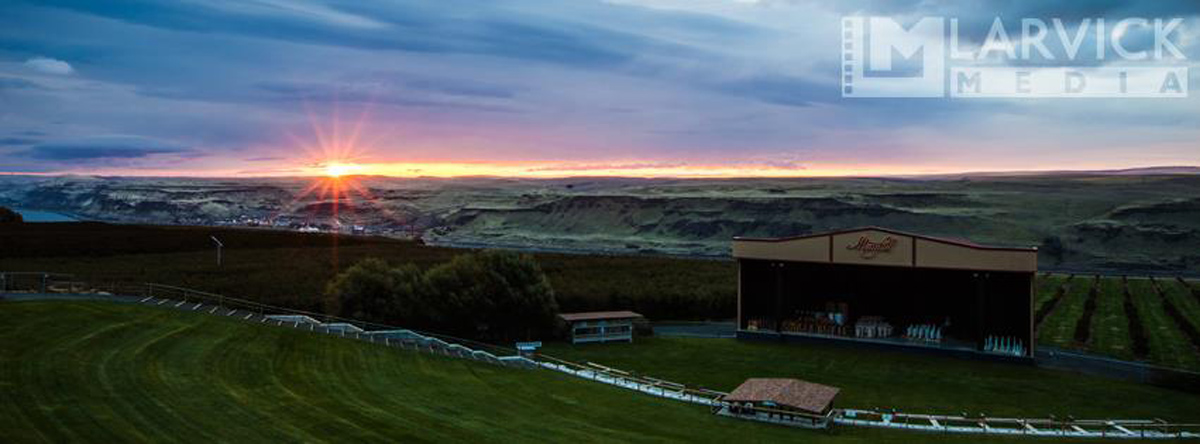 Maryhill Winery Concert Series, Columbia Gorge wine