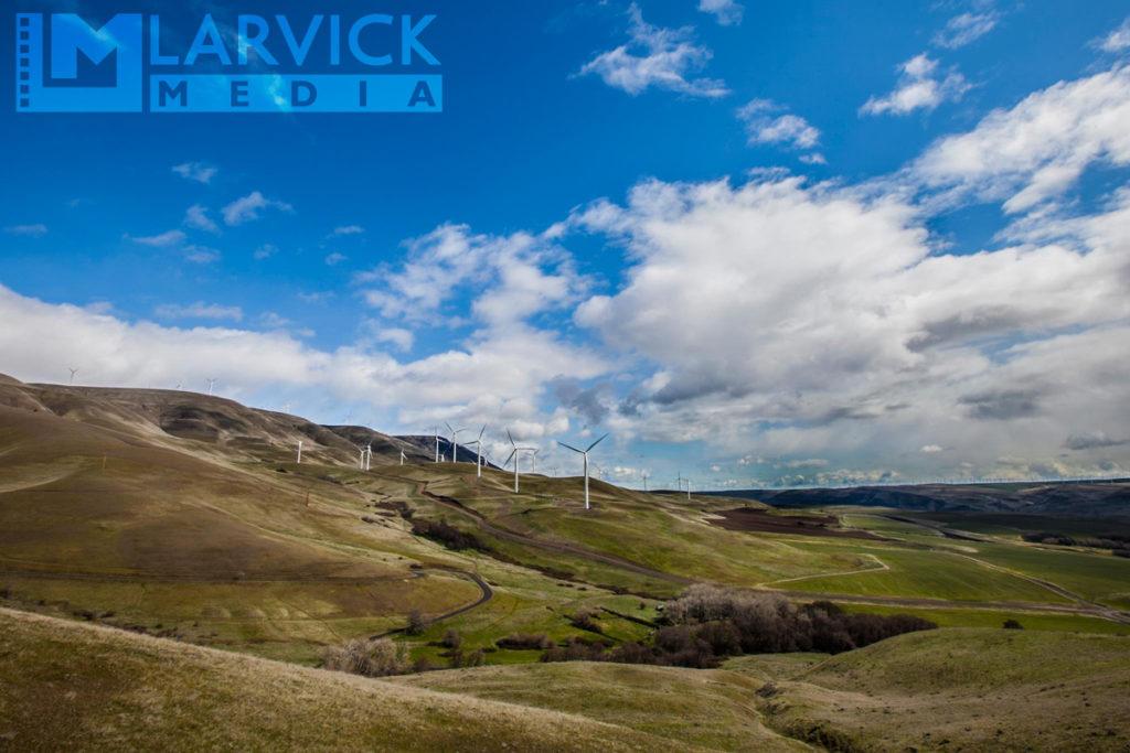 Wind Turbines near Maryhill Winery