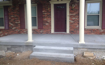 Concrete Porches