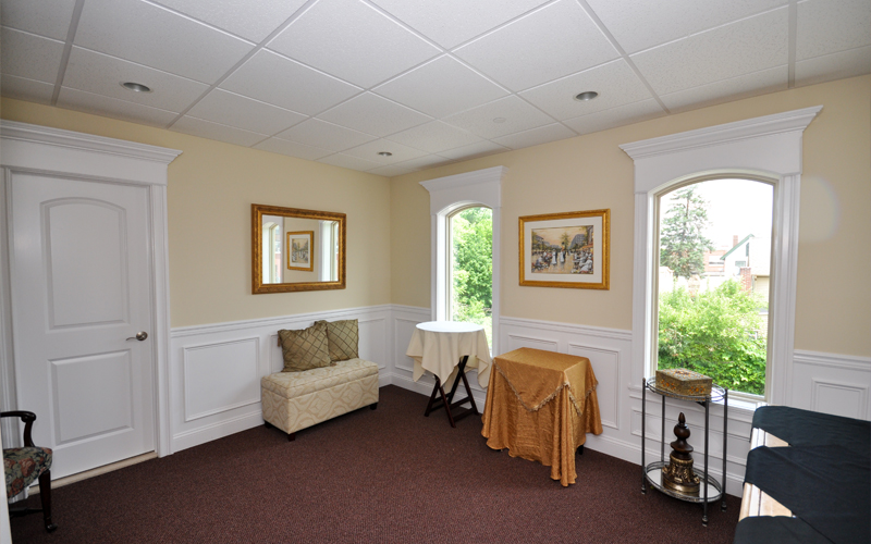 Wide Angle of Bridal Suite