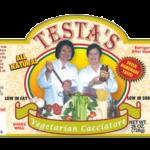 Testa's Vegetarian Cacciatore Sauce Label