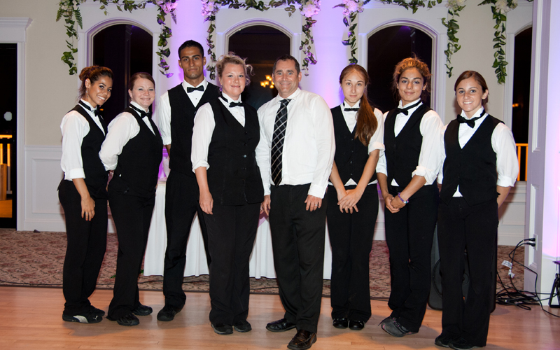 Staff at Testa's Banquet Facility