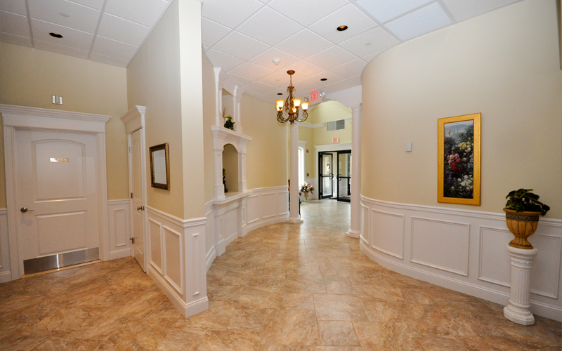 Entrance to Banquet Facility Rooms
