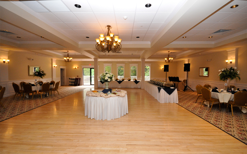 Room Setup for Catered Event