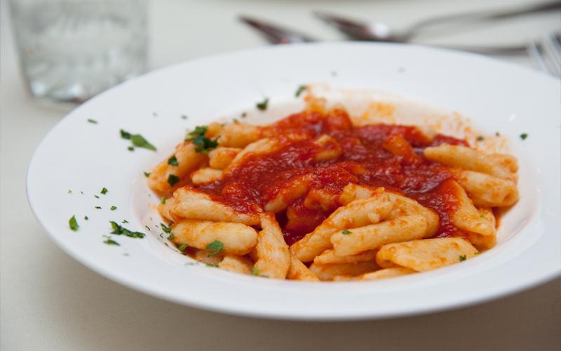 Gnocchi with Sauce