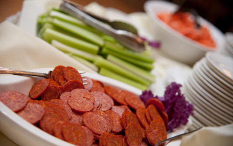 Pepperoni, Celery and Carrots
