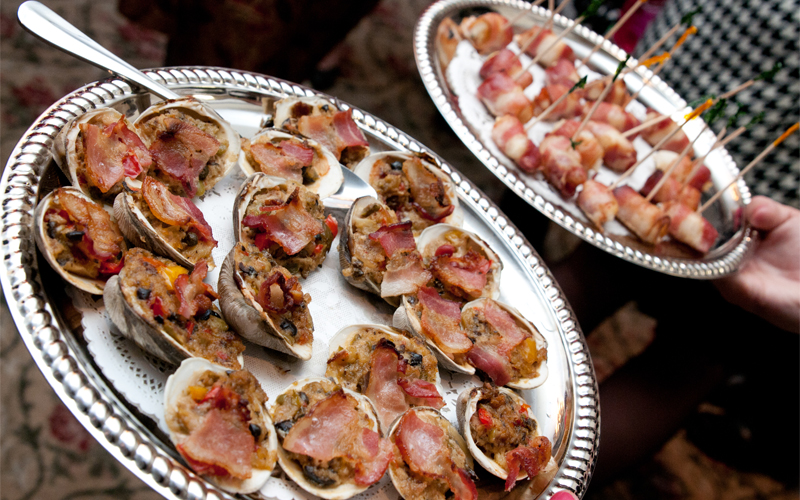 Stuffed Clams for Appetizer