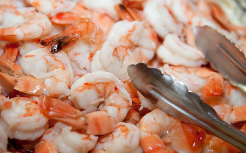 Cooked Shrimp Appetizer