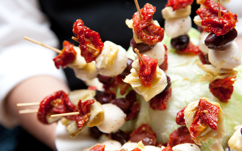 Skewers with Appetizer