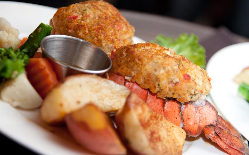 Stuffed Lobster Entree for Wedding