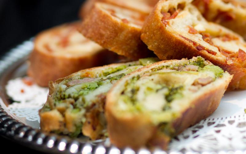 Stuffed Broccoli Bread