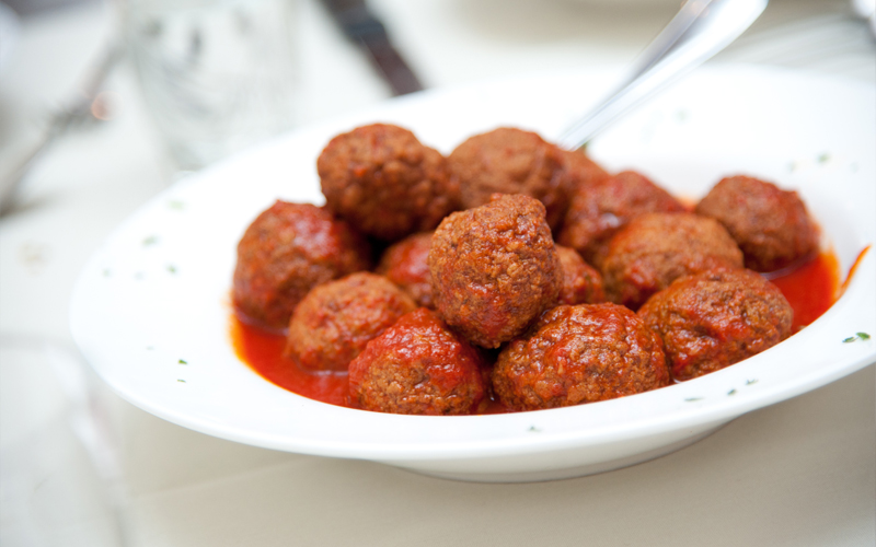 Bowl of Meatballs