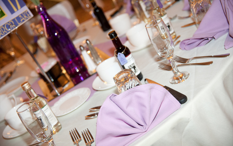 Lavender Table Settings