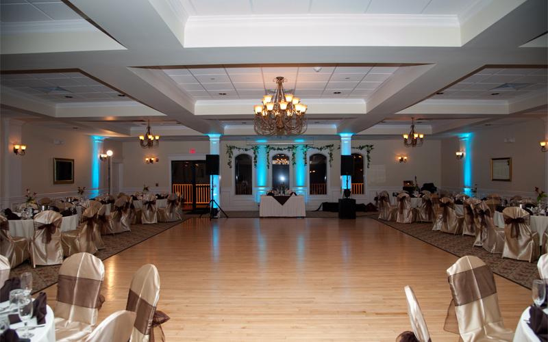 DJ Entertainment Setup at Testa's Wedding Facility
