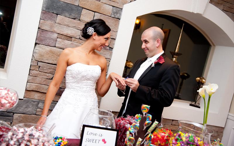 Groom Having Fun with Bride