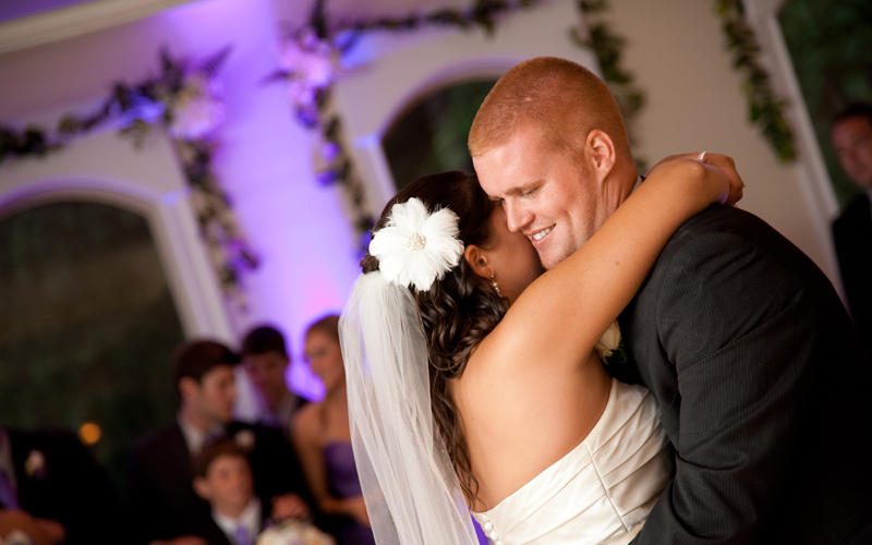 First Dance Caught by Photographer