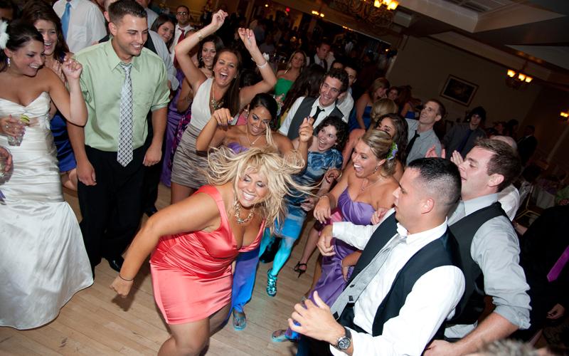 Fun Dance Floor Shot