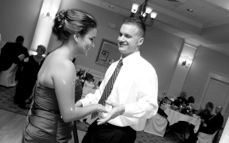Couple Dancing on the Dance Floor