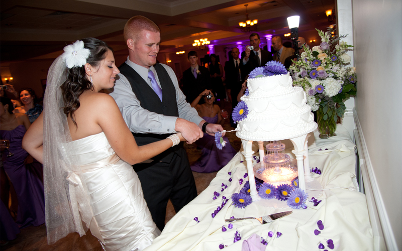 Cake Cutting Ceremony at Testa's